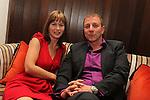 ISPS Handa Wales Open 2012.Terry M's Restaurant Opening.Marie Longhurst & Ian Ritchie.01.06.12.©Steve Pope