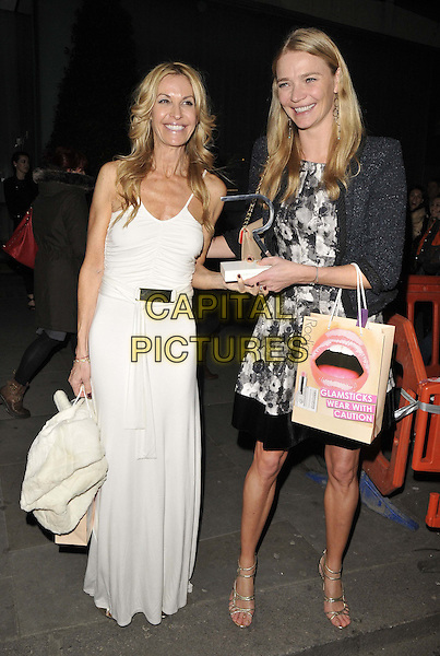 LONDON, ENGLAND - MARCH 10: Melissa Odabash &amp; Jodie Kidd attend the Rodial Beautiful Awards 2014, St Martin's Lane Hotel, St Martin's Lane, on Monday March 10, 2014 in London, England, UK.<br /> CAP/CAN<br /> &copy;Can Nguyen/Capital Pictures