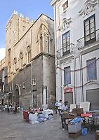 Palermo:Alliata of Pietratagliata  Palace (15th century) and Oneto of Sperlinga  Palace (18th century) located in Bandiera street.<br /> Palermo: Palazzo Alliata di Pietratagliata (XV sec.)e Palazzo Oneto di Sperlinga (XVIII sec.) in via Bandiera.