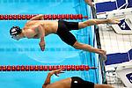 Engeland, London, 2 Augustus 2012.Olympische Spelen London.Michael Phelps heeft donderdag eindelijk zijn eerste individuele gouden medaille op de Spelen van Londen gewonnen. Dat brengt zijn totaal op 20 olympische medailles. De Amerikaanse zwemvedette toonde zich op de 200 meter wisselslag de sterkste en slaagde er zodoende als eerste mannelijke zwemmer ooit in om driemaal op rij dezelfde discipline te winnen op de Olympische Spelen.