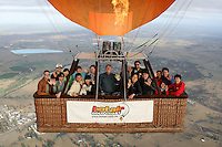 20121107 November 07 Gold Coast Hot Air Balloon