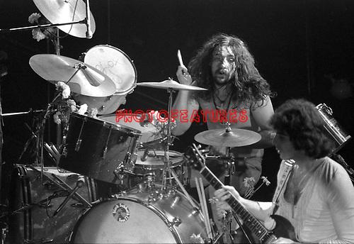 Black Sabbath 1970 Bill ward..© Chris Walter....