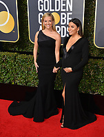 Reese Witherspoon & Eva Longoria at the 75th Annual Golden Globe Awards at the Beverly Hilton Hotel, Beverly Hills, USA 07 Jan. 2018<br /> Picture: Paul Smith/Featureflash/SilverHub 0208 004 5359 sales@silverhubmedia.com