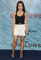 "NEW YORK, NY - June 21: Esther Zynn attends the NEw York premiere for ""The Shallow"" at the Loews AMC on June 21, 2016   in New York City .  Photo Credit: John Palmer/ MediaPunch"