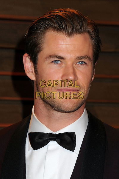 02 March 2014 - West Hollywood, California - Chris Hemsworth. 2014 Vanity Fair Oscar Party following the 86th Academy Awards held at Sunset Plaza.  <br /> CAP/ADM/BP<br /> &copy;Byron Purvis/AdMedia/Capital Pictures