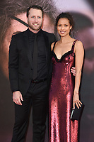 LONDON, UK. October 20, 2018: Matthew Heineman &amp; Gugu Mbatha-Raw at the London Film Festival screening of &quot;A Private War&quot; at the Cineworld Leicester Square, London.<br /> Picture: Steve Vas/Featureflash
