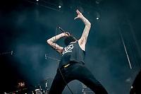 Livl&oslash;s paa Pandaemonium.  Copenhell 2018 p&aring; Refshale&oslash;en i K&oslash;benhavn. Fire dage med rock, metal og dedikerede fans.<br /> <br /> Copenhell 2018 on Refshale Island in Copenhagen. Four days of rock, metal and dedicated fans.<br /> <br /> Foto: Jens Panduro<br /> <br /> Copenhagen, Copenhell, musikfestival, festival, musik, rockmusik, metal, hardcore, thrashmetal, punk, punkrock, metalcore, Refshale&oslash;en, Reffen, koncerter, rockkoncerter., Music Festival, Music, Rock Music, Thrash Metal, Refshale Island, Concerts, Rock Concerts.