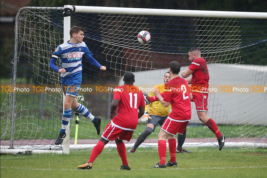 Danny Haigh of Ilford goes close during Ilford vs Walthamstow, Essex Senior League Football at Cricklefields Stadium on 6th October 2018