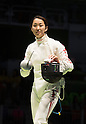 Nozomi Sato (JPN), AUGUST 6, 2016 - Fencing : Women's Epee Individual 3rd round at Carioca Arena 3 during the Rio 2016 Olympic Games in Rio de Janeiro, Brazil. (Photo by Enrico Calderoni/AFLO SPORT)