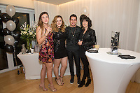 Gabriella Paterson, Sophia Rechel, Sean Scott and Michelle Grua attend Levitation Activewear presents Sean Scott's Birthday Bash at SKYBAR on Dec. 17, 2015 (Photo by Inae Bloom/Guest of a Guest)