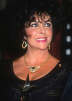 Elizabeth Taylor 1993<br /> Photo By Michael Ferguson/PHOTOlink.net