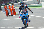 Gran Premi Monster de Catalunya in Montmeló Circuit<br /> 14/06/2014 <br /> moto3 free&qualifyng practices<br /> alex marquez<br />