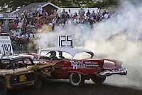 Demolition Derby at the NW Washington Fair. August 17, 2009 PHOTOS BY MERYL SCHENKER            ..schenker IMG_4649.JPG