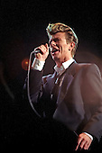 DAVID BOWIE - performing live on The Sound+Vision Tour at The Sports Arena in Los Angeles, CA USA - May 23, 1990.  Photo credit: Kevin Estrada / Iconicpix