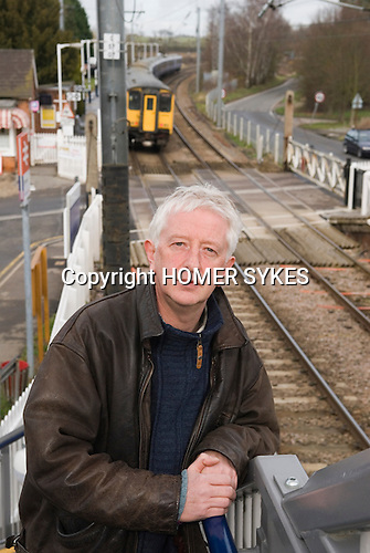 Reg and Hilary Thompson. Book Charlie's Story. 2008 Charlie / Charlotte Thompson was killed at this level crossing  Elsenham Essex