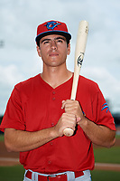 Clearwater Threshers Adam Haseley (17) poses for a photo before a game against the Tampa Tarpons on April 22, 2018 at George M. Steinbrenner Field in Tampa, Florida.  Clearwater defeated Tampa 2-1 (Mike Janes/Four Seam Images)