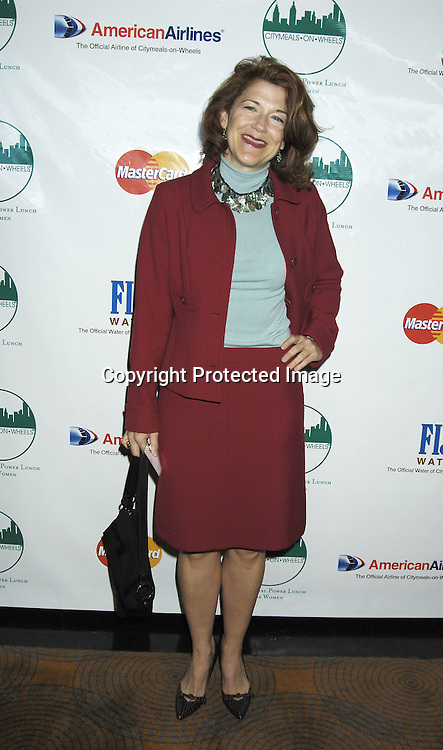 Victoria Clark ..at The Citymeals-on-Wheels 19th Annual Power Lunch for Women on November 18, 2005 at The Rainbow Room. ..Photo by Robin Platzer, Twin Images