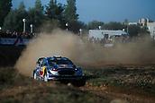 5th October 2017, Costa Daurada, Salou, Spain; FIA World Rally Championship, RallyRACC Catalunya, Spanish Rally; Sebastien OGIER - Julien INGRASSIA of M-Sport WRT in the last part of the shakedown