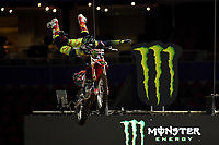 FMX / Josh Sheehan<br /> Monster Energy Aus-XOpen<br /> Supercross &amp; FMX International<br /> Qudos Bank Arena, Olympic Park NSW<br /> Sydney AUS Sunday 12  November 2017. <br /> &copy; Sport the library / Jeff Crow