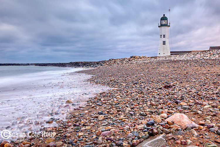 Scituate Light in Scituate, Massachusetts, USA