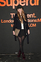 Katie Readman attending The Superdry AW14 event, London Collections: Men held at the old sorting office<br /> London. 07/01/2014 Picture by: Henry Harris / Featureflash