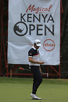 Ricardo Gouveia (POR) during the third round of the Magical Kenya Open presented by ABSA, played at Karen Country Club, Nairobi, Kenya. 16/03/2019<br /> Picture: Golffile | Phil Inglis<br /> <br /> <br /> All photo usage must carry mandatory copyright credit (&copy; Golffile | Phil Inglis)