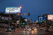 Sunset Strip, West Hollywood, Los Angeles, California, USA