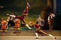 London, UK. 30.03.2013. The Mikhailovsky Ballet present DON QUIXOTE at the London Coliseum. © Jane Hobson.