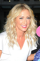 Faye Tozer spotted leaving BBC
