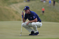 Brandt Snedeker (USA) on the 8th green during Saturday's Round 3 of the 117th U.S. Open Championship 2017 held at Erin Hills, Erin, Wisconsin, USA. 17th June 2017.<br /> Picture: Eoin Clarke | Golffile<br /> <br /> <br /> All photos usage must carry mandatory copyright credit (&copy; Golffile | Eoin Clarke)
