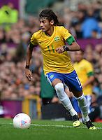Olympia 2012 London  Fussball  Maenner   29.07.2012 Brasilien - Weissrussland NEYMAR (Brasilien)