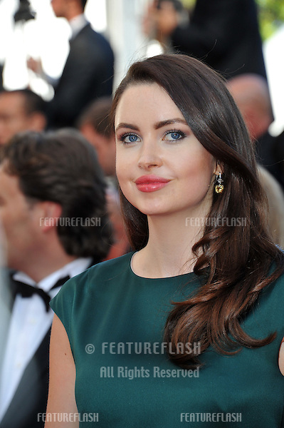 Emma Miller at the gala awards ceremony at the 67th Festival de Cannes.<br /> May 24, 2014  Cannes, France<br /> Picture: Paul Smith / Featureflash