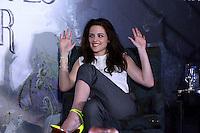 """México, D.F.- 19may2012 - Hotel St Regis.Los actores Kristen Stewart y Sam Claflin, visitan México para promocionar la cinta """"Blanca Nieves y el cazador"""", que se estrenara el 1º de junio en los cines del país..Photo: ©Francisco Morales/DAMMPHOTO.COM."""