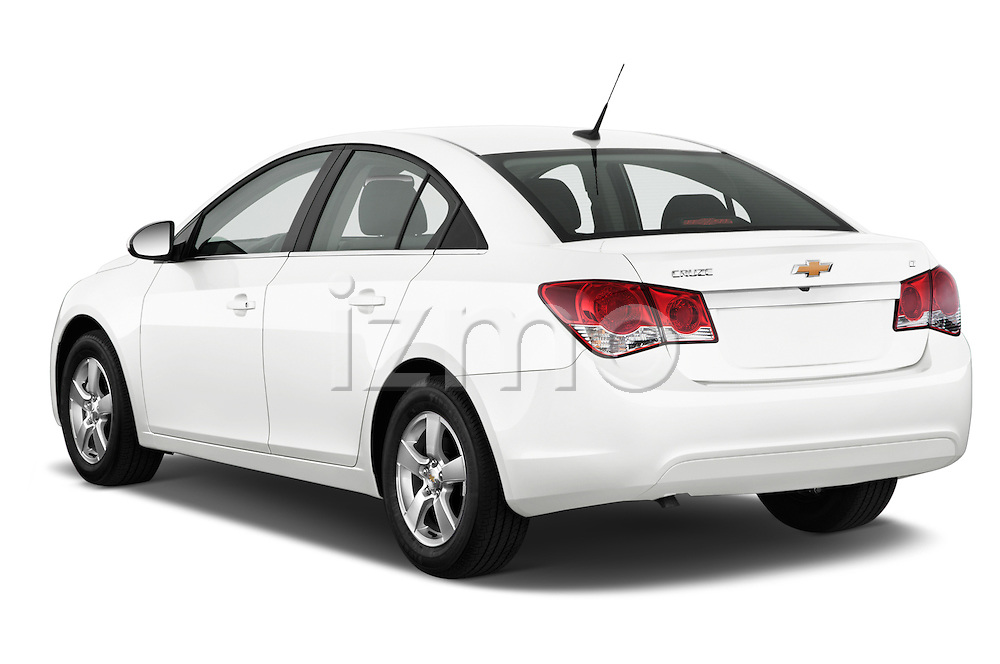 Car pictures of rear three quarter view of a 2015 Chevrolet Cruze 4-Door Sedan 2LT Automatic 4 Door  Angular Rear