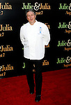 "WESTWOOD, CA. - July 27: Chef Patrick Martin arrives at the Los Angeles screening  of ""Julie & Julia"" at the Mann Village Theatre on July 27, 2009 in Westwood, California."