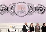 Princess Letizia of Spain attends the 'El Barco de Vapor' literature awards in the presence of the President of Madrid Region Jose Ignacio Gonzalez (2r), the Secretary of State of Culture Jose Maria Lassalle (r) and the Chairman of the Editorial SM Javier Cortes.April 9, 2013.(ALTERPHOTOS/Acero)