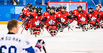 PyeongChang 15/3/2018 - Canada takes on Korea in semifinal hockey action at the Gangneung Hockey Centre during the 2018 Winter Paralympic Games in Pyeongchang, Korea. Photo: Dave Holland/Canadian Paralympic Committee
