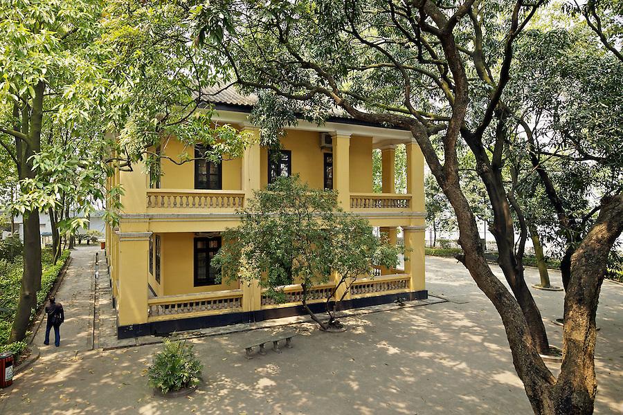 East Elevation, Custom House On Danes' Island, Whampoa, Guangzhou (Canton).