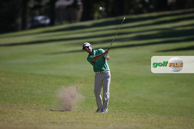 Mark Tullo (CHI) has a bad lie on the 14th during Round Three of the Africa Open 2015 at the East London Golf Club, East London, Eastern Cape, South Africa. Picture:  David Lloyd / www.golffile.ie. 07/03/2015