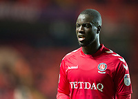 Mouhamadou-Naby Sarr of Charlton Athletic during the Sky Bet League 1 match between Charlton Athletic and Peterborough at The Valley, London, England on 28 November 2017. Photo by Vince  Mignott / PRiME Media Images.