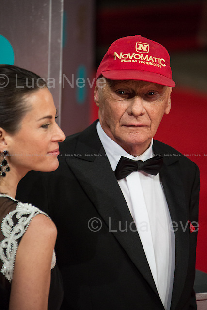 Niki Lauda (Former Formula One racing driver) &amp; Birgit Wetzinger (Niki Lauda wife).<br />