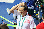 Suei Mabuch (JPN), <br /> AUGUST 15, 2016 - Diving : <br /> Men's 3m Springboard Preliminary Round <br /> at Maria Lenk Aquatic Centre <br /> during the Rio 2016 Olympic Games in Rio de Janeiro, Brazil. <br /> (Photo by Yohei Osada/AFLO SPORT)