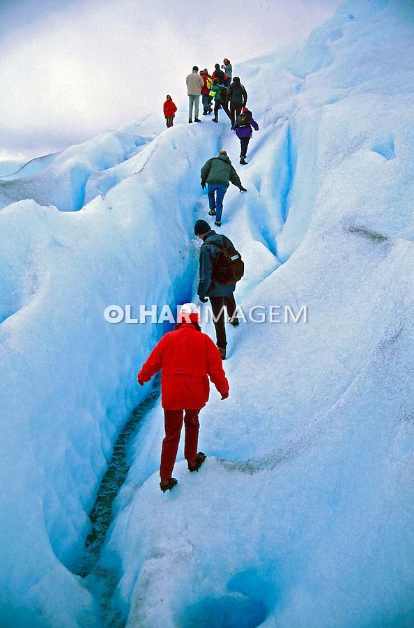 Parque Nacional dos Glaciares na Patagônia Argentina. 2000. Foto de Vinícius Romanini.
