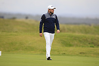 Tyrrell Hatton (ENG) on the 15th during Round 4 of the Alfred Dunhill Links Championship 2019 at St. Andrews Golf CLub, Fife, Scotland. 29/09/2019.<br /> Picture Thos Caffrey / Golffile.ie<br /> <br /> All photo usage must carry mandatory copyright credit (© Golffile | Thos Caffrey)