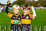 SIOBHAN COTTER BLITZ:  Enjoying the Annual Siobhan Cotter Blitz  in Churchill on Sunday were Danny Lane and Billy Kirby.