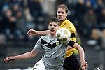 Nederland, Venlo, 9 december  2012.Eredivisie.Seizoen 2012/2013.VVV-VItesse 3-1.Marco van Ginkel van Vitesse in actie met de bal