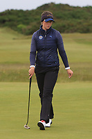 Linn Grant (SWE) on the 17th fairway during Matchplay Semi-Finals of the Women's Amateur Championship at Royal County Down Golf Club in Newcastle Co. Down on Saturday 15th June 2019.<br /> Picture:  Thos Caffrey / www.golffile.ie