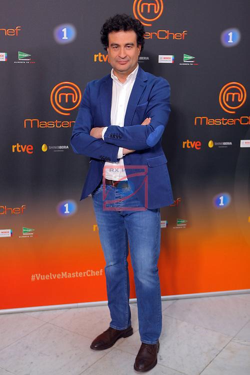Presentacion MasterChef.<br /> Pepe Rodriguez Rey.