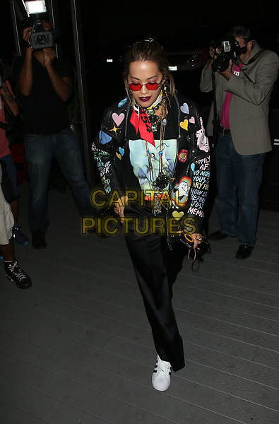 WEST HOLLYWOOD, CA - August 23: Rita Ora, At TINGS Hosts 'Secret Party' Launch Celebrating Cover Star Cameron Dallas At Nightingale In California on August 23, 2017. <br /> CAP/MPI/FS<br /> &copy;FS/MPI/Capital Pictures