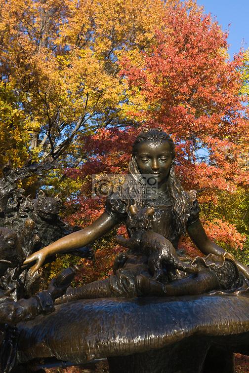 MARGARITA DELACORTE MEMORIAL CENTRAL PARK MANHATTAN NEW YORK CITY USA